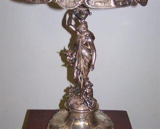 German 800 silver epergne