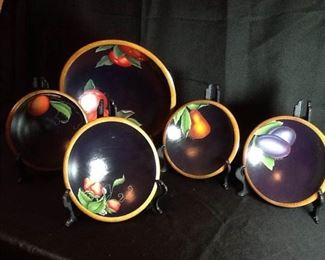 Hand Painted Bowl Set of Five