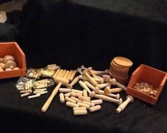 Wooden Craft Lot