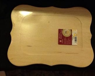 Wooden Trays to Paint and Create