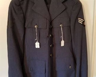 Real Air Force Uniform with fixins