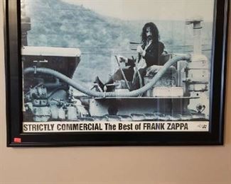 Zappa Poster $40. Nicely framed