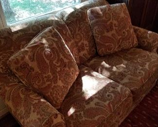 Sofa and loveseat in top condition priced to move quickly
