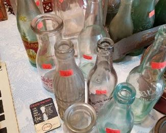 Some of these are very old Coke Bottles