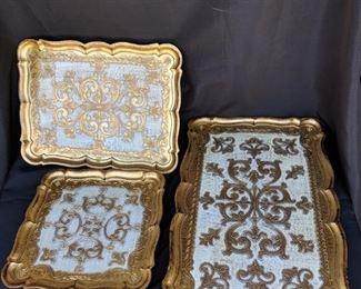 3 Italian Nesting Tables