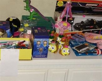 Toys, Halloween Decorations.