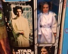 "Star Wars ""Princess Leia Organa"" large action figure by Kenner"
