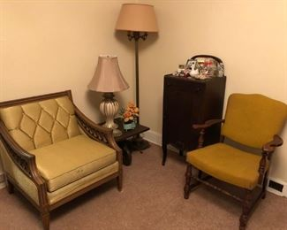Mid Century Modern Chairs, Lamps