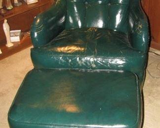 Jamestown Royal chair & ottoman