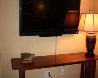 Sofa table and Flat screen TV