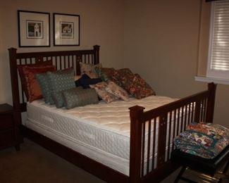 Drexel bed/Basset mattress(nearly new)