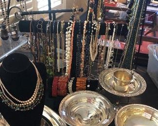 Several Sterling pieces, LOTS of Jewelry