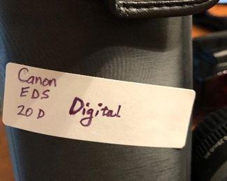 Canon EDS 20D digital