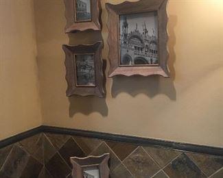 Lovely wood framed photos