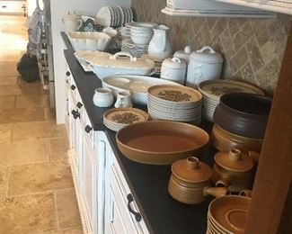 Two lovely sets of stoneware