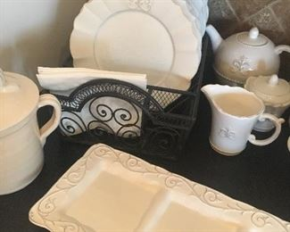 Grace tea set and tray