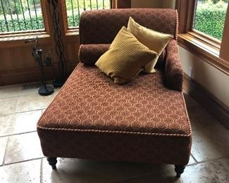 Stylish and comfortable chaise