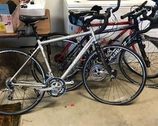 Three bikes for sale