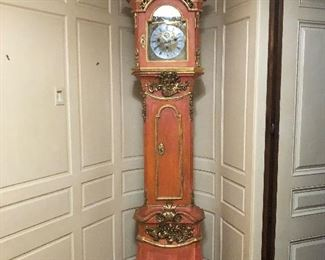 Antique long box clock asking $12,000 not going to half off will listen to offers