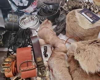 Great Belt selection too-you better like Chains, Stones and Fur!