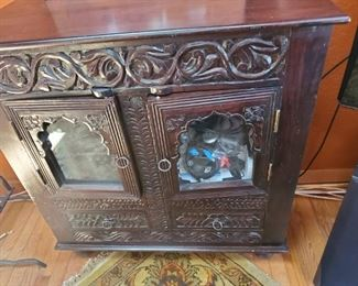 Beautiful Black Wooden cabinet