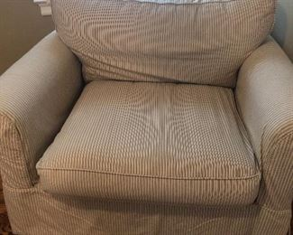 Chair and 1/2 w ottoman. $325