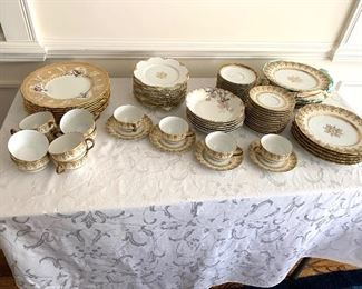 Tiffany and Limoges china