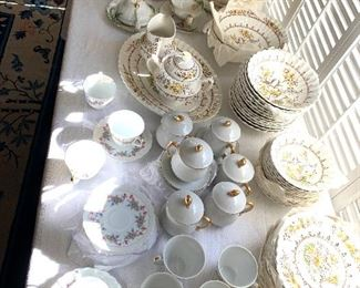 China sets of all kinds
