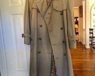 Burberry raincoat Burberry hat