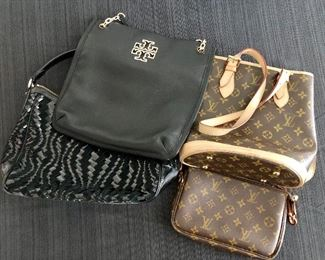 Hand bags, Tory Birch, Faux Luis Vuitton