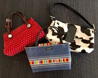Kate Spade , Brighton and more hand bags