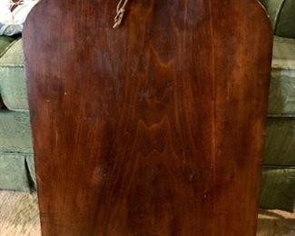 Very large wood slab