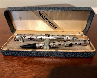 Waterman's pen set