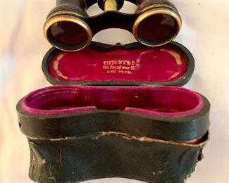 Tiffany & Company binoculars in original case
