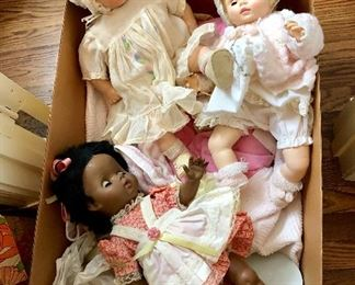 Collection of dolls of all kinds