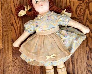 Raggedy Anne doll