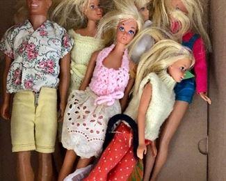 Barbie dolls and Ken