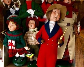 Collection Beyer's Choice Caroler Dolls