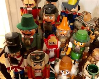 Vintage nutcrackers - many made in Germany