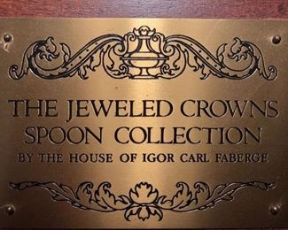 Faberge spoon collection