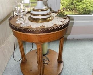 One of many decorative side tables