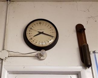 24 hour clock vintage General Electric