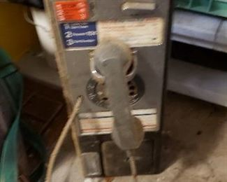 Antique Pay Booth Phone