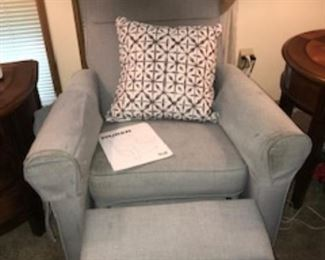 Recliner chair in need of a good cleaning