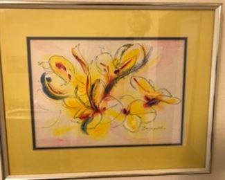 Additional Framed artwork signed