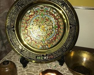 Brass, copper and other decorative plates