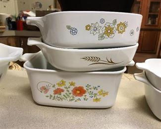 Vintage baking dishes