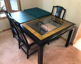 Chin Hua dining table with 6 chairs