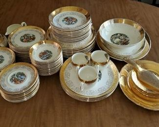 China Set - Crest-O-Gold