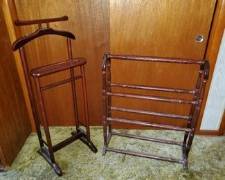 Vintage Clothing Racks